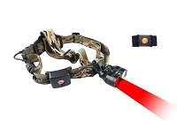 Wireless Remote Dual Red/White Light Headlamp