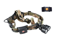 Wireless Remote Dual Color Beam Headlamp