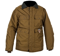 Briar Boss Insulated Brown Hunting Jacket