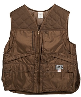 Brown Hunting Vest with Game Bag