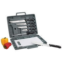 Knife Cutlery Set with Cutting Board