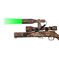 Camo Gun Scope Green LED Hunting Light