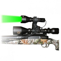 Gun Scope Green LED Hunting Light Kit