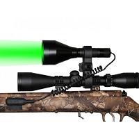GL-300 Gun Scope Green LED Gun Light Kit