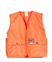 Kids Blaze Orange Hunting Vest