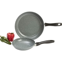2pc Non-Stick Carbon Steel Fry pan Set