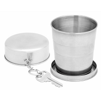 8oz Stainless Steel Collapsible Cup