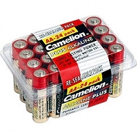 AA Alkaline Batteries 24 Pack