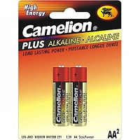 2 Pack AA Plus Alkaline Batteries