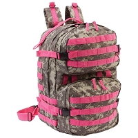Pink Camo Water Resistant Backpack