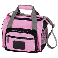 Pink Cooler Bag with Zip-Out Liner