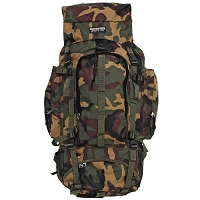 Heavy Duty Camouflage Backpack