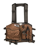 Brown Mesh Strap Hunting Vest