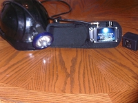 9 Volt Coon Hunting Belt light