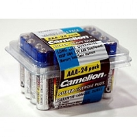 24 Pack AAA Super Heavy Duty Batteries