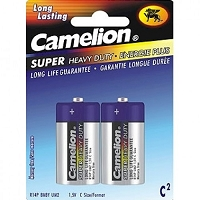 2 Pack Alkaline Heavy Duty C Batteries