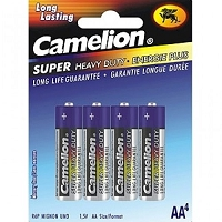 4 Pack AA Plus Alkaline Batteries