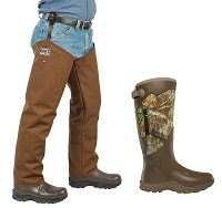 LaCrosse Alpha Boots Snake Protector Chaps Froglegs