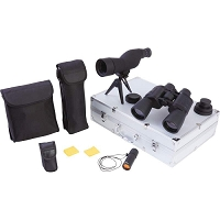 7pc Observation Set, Binoculars, Spotting Scope