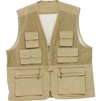 Lightweight Tan Sporting Vest
