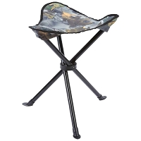 Compact Lightweight Camo Camp Stool