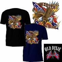 The South Will Rise Again Eagle T-Shirt
