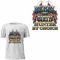 Rebel By Birth Hunter By Choice T-Shirt