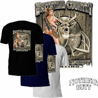 Whitetail Country Nothing Butt Hunting T-Shirt