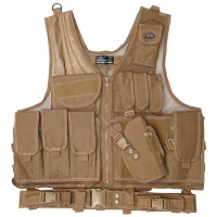 Quick Draw Brown Tactical Vest