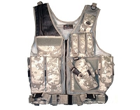 Quick Draw Brown Camo Tactical Vest