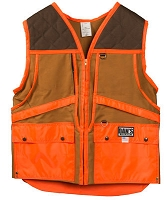Brown/Orange Hunting Game Vest