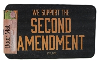 We Support the Second Amendment Door Mat