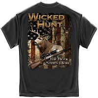 Wicked Hunt The Buck Stops Here T-Shirt