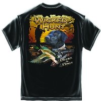 Wicked Hunt Ducks and Dogs T-Shirt