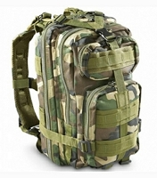 Transport Pack Green Woodland Camo