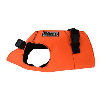 Brush Buster Dog Vest Orange