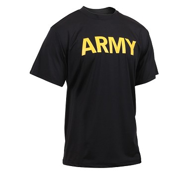 Black Army T-Shirt