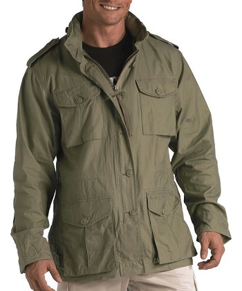 Sage Green Lightweight M-65 Field Jacket