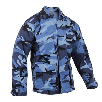 Blue Camo Ultimate BDU Shirt