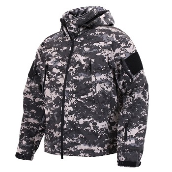 Urban Digital Camo Special Ops Soft Shell Jacket