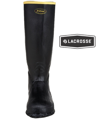 LaCrosse Non-Insulated Black Boots