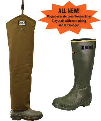 LaCrosse Insulated Boots Brush Buster Chaps Froglegs