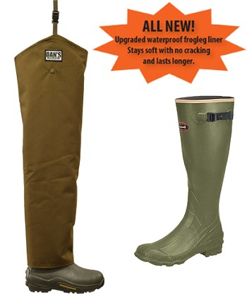 LaCrosse Non-Insulated Boots Brush Buster Chaps Froglegs