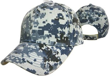 Blank Digital Camo Hunting Cap