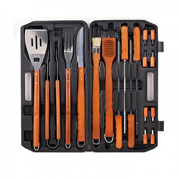 19 Piece Barbecue Tool Set