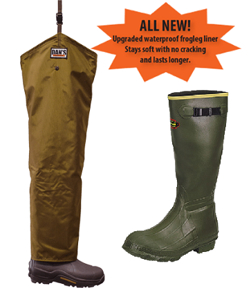 LaCrosse Insulated Boots Froglegs Five Star Chaps