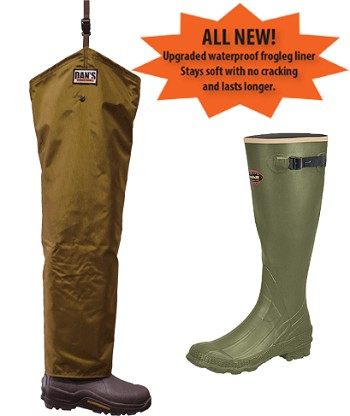 LaCrosse Non-Insulated Boots Froglegs Five Star Chaps