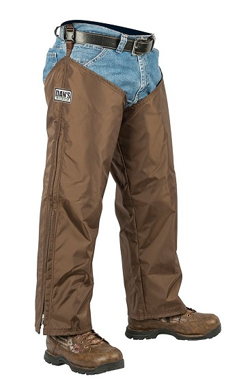 Brown Waterproof Briarproof Hunting Chaps
