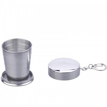 Small Stainless Steel Collapsible Cup