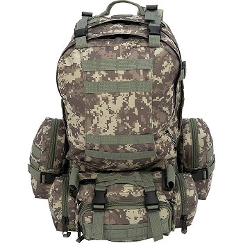 4pc Digital Camo Backpack Set